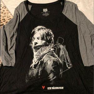 torrid the walking dead daryl shirt